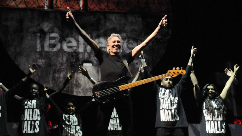 A still from Roger Waters The Wall