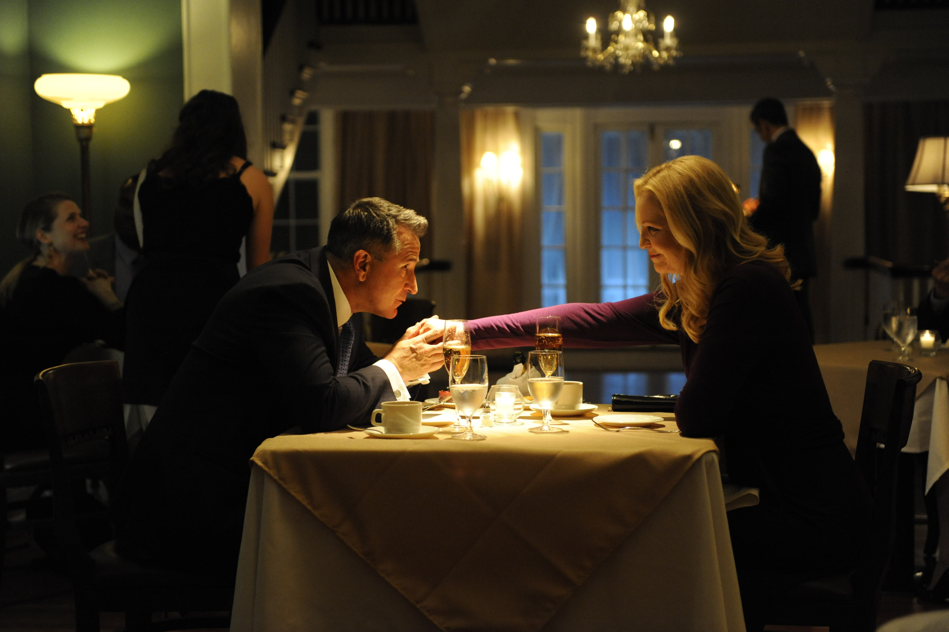 Anthony LaPaglia and Joan Allen in Stephen Kings's 'A Good Marriage'
