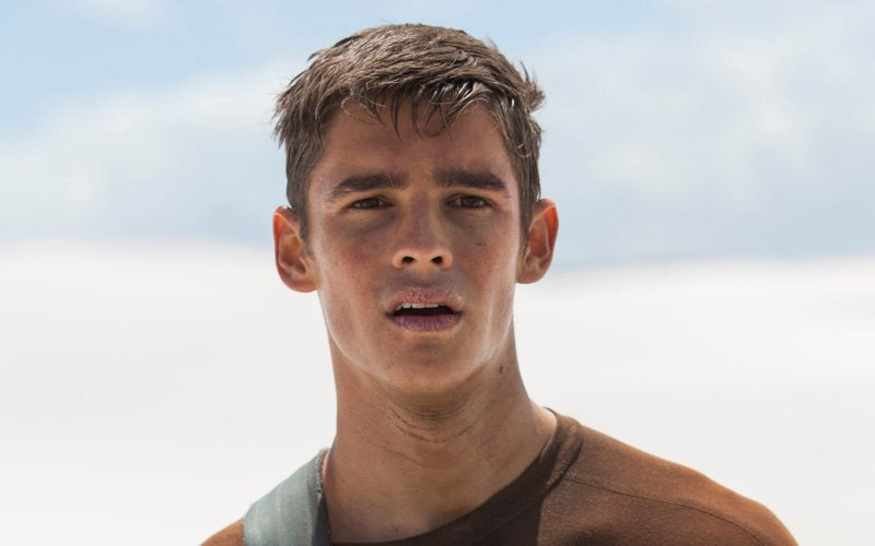 Brenton Thwaites in 'The Giver'