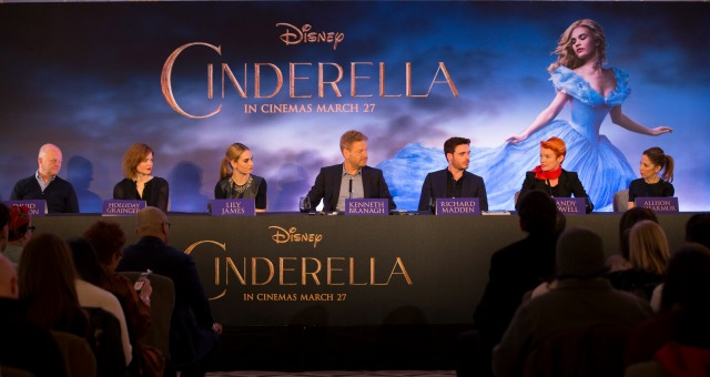 Matt Rodgers Reports From The Cinderella Press Conference