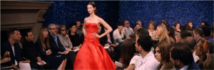 The catwalk in the documentary DIOR AND I