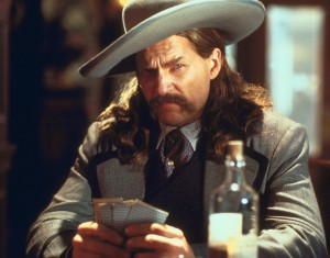 Jeff Bridges as wild bill