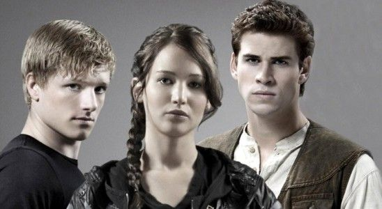 Liam Hemsworth, Jennifer Lawrence & Josh Hutcherson in 'The Hunger Games'