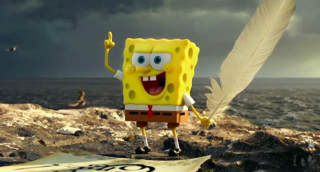 Spongebob Squarepants in The Spongebob Movie: Sponge Out Of Water