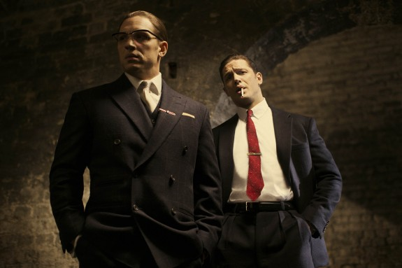 Tom Hardy as Ronnie & Reggie Kray in LEGEND