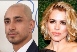 Riz Ahmed and Billie Piper