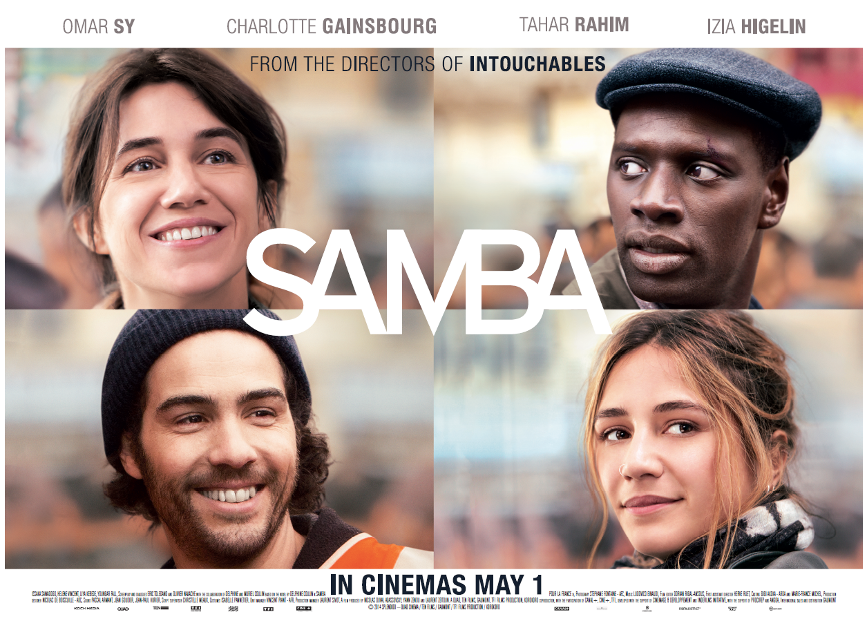 Samba in cinemas May 1st