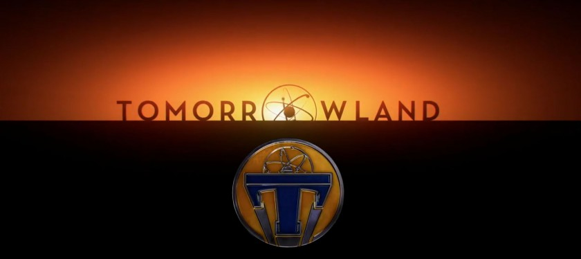 Tomorrowland movie logo
