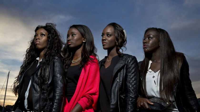 The cast of 'Girlhood' (dir. Celine Sciamma)