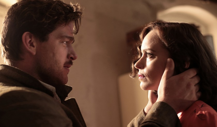 Ronald Zehrfeld and Nina Hoss in 'Phoenix' (dir. Christian Petzold)