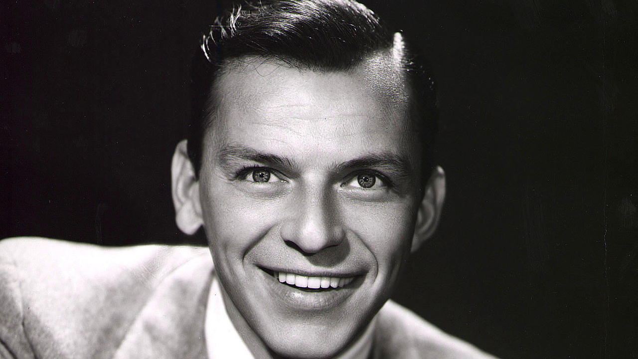 Promotional studio portrait of American singer and actor Frank Sinatra, 1950s. (Photo by Hulton Archive/Getty Images)