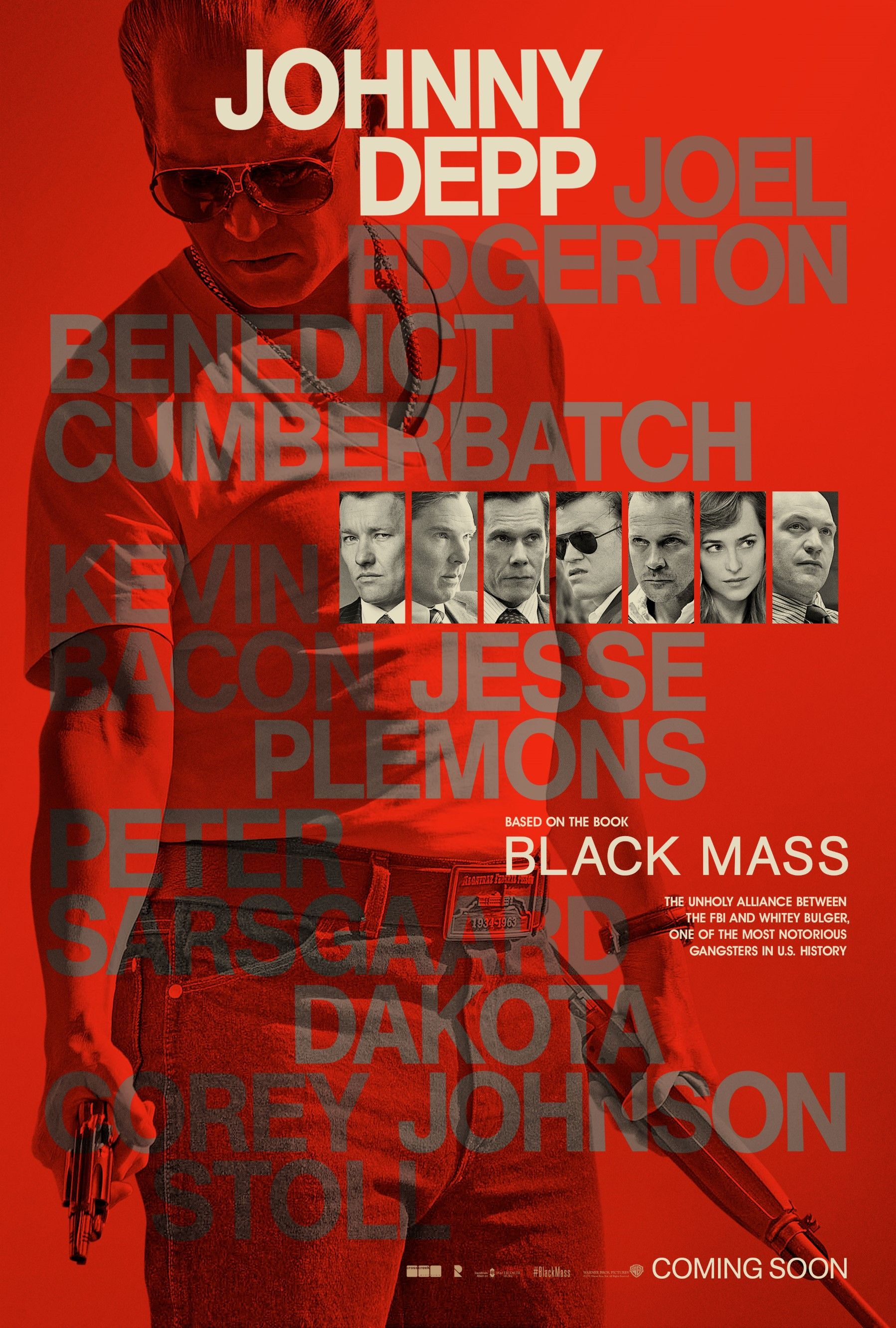 New Character Posters for Black Mass