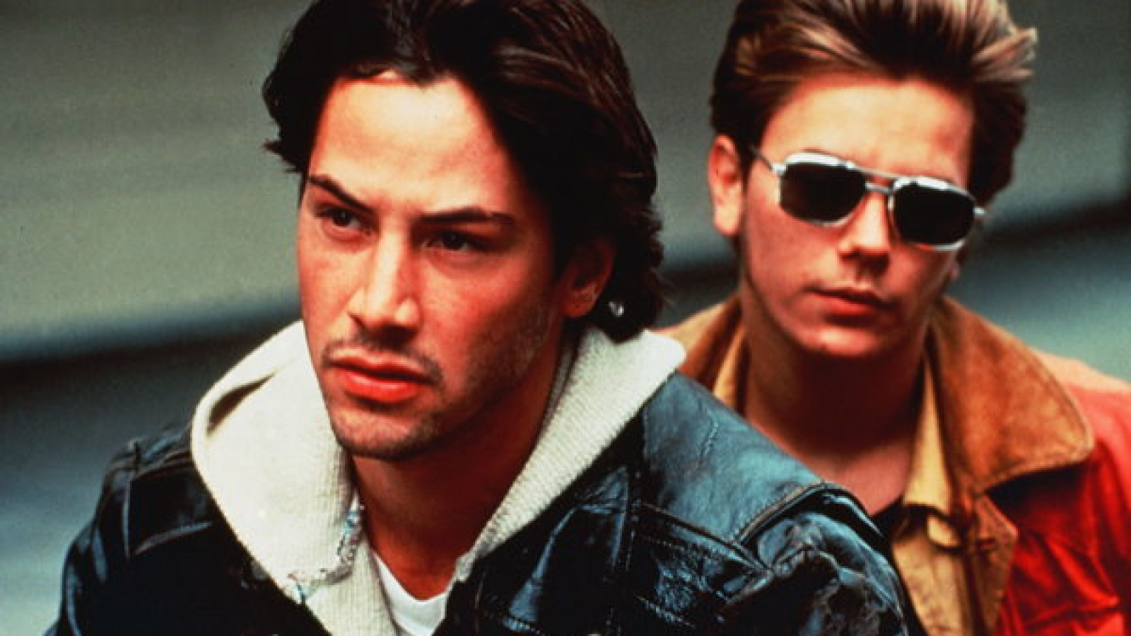 Title: MY OWN PRIVATE IDAHO ¥ Pers: REEVES, KEANU / PHOENIX, RIVER ¥ Year: 1991 ¥ Dir: VAN SANT, GUS ¥ Ref: MYO006AB ¥ Credit: [ NEW LINE / THE KOBAL COLLECTION ]