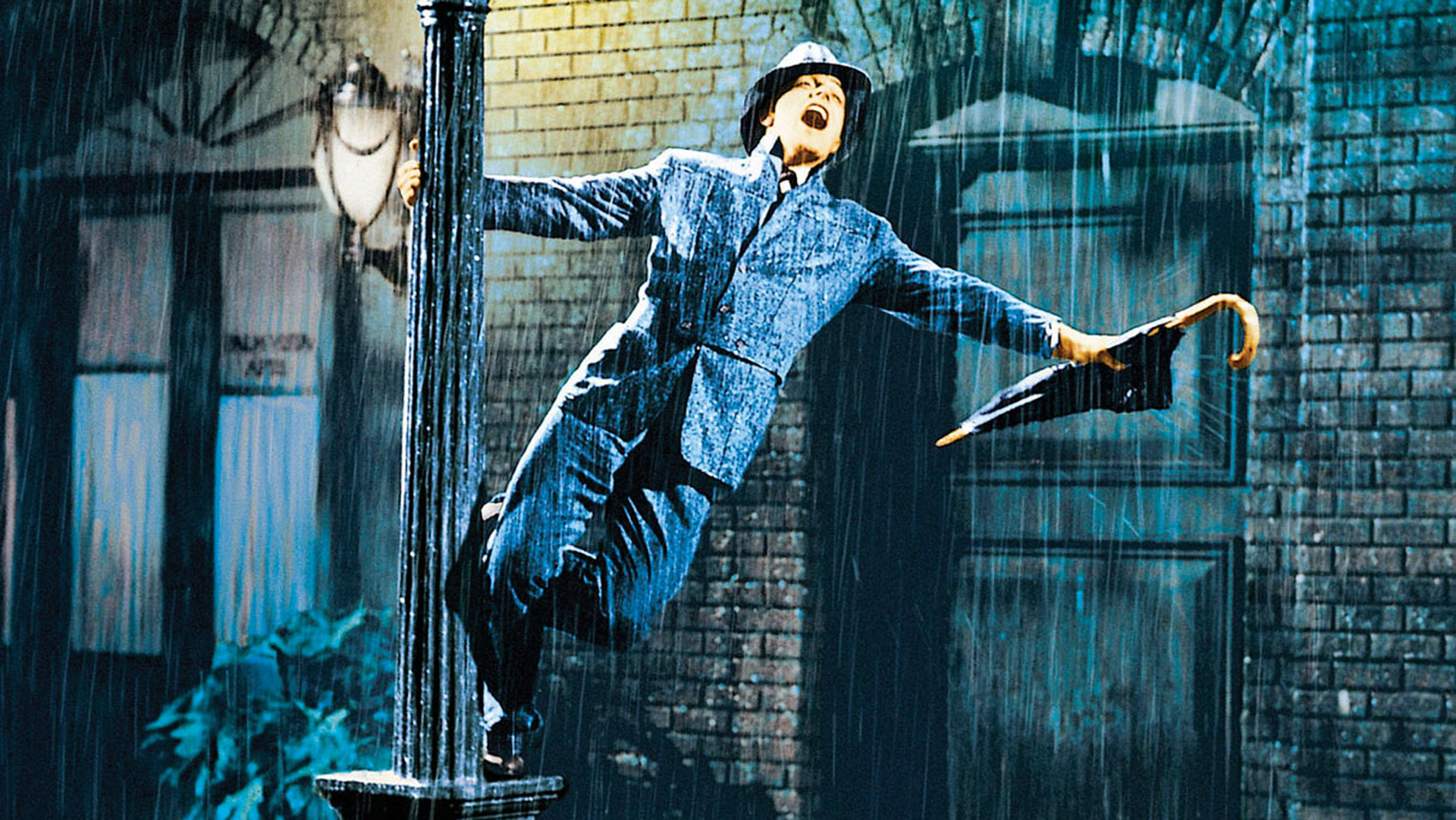 Gene Kelly and Signing in the Rain