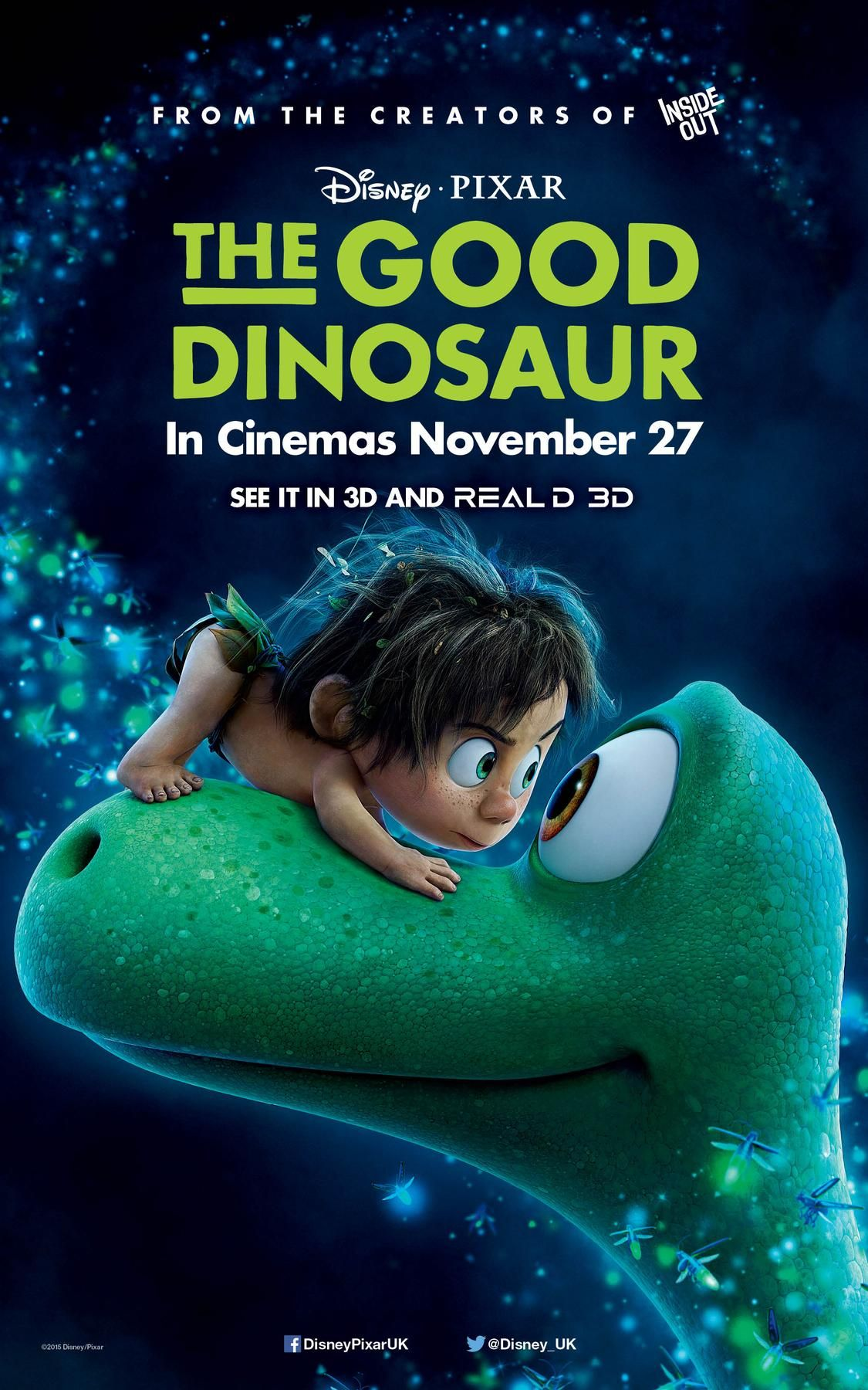 The Good Dinosaur UK Trailer and New Poster