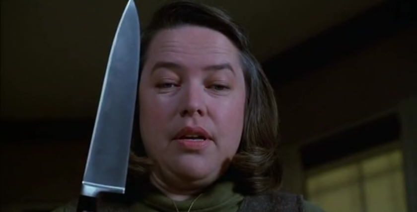 Kathy Bates as Annie Wilkes in Misery