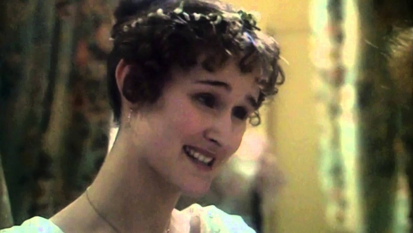 Natasha Little as Becky Sharp in Vanity Fair