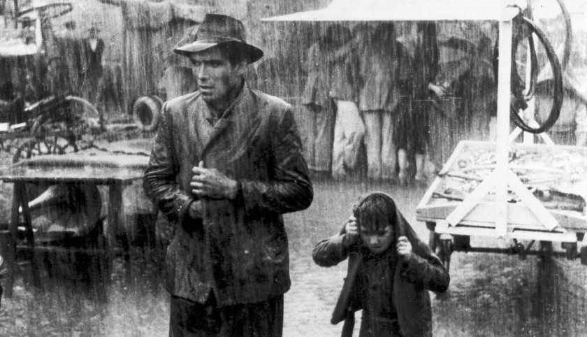Vittorio De Sica and The Bicycle Thieves