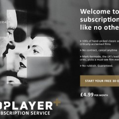 BFI Player+ Launch – subscription service for lovers of film