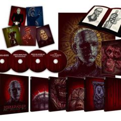 Hellraiser 4-disc blu-ray box-set of the seminal horror saga – out on 26th October 2015