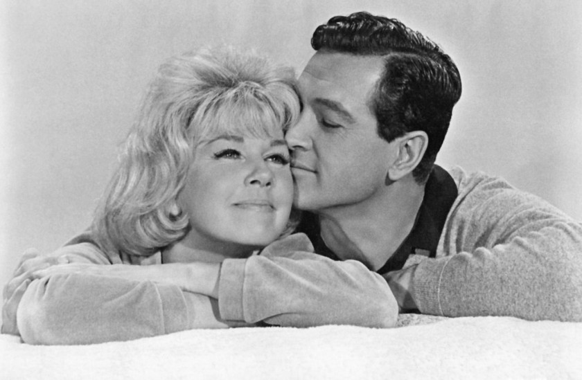 Rock Hudson and Doris Day in Pillow Talk