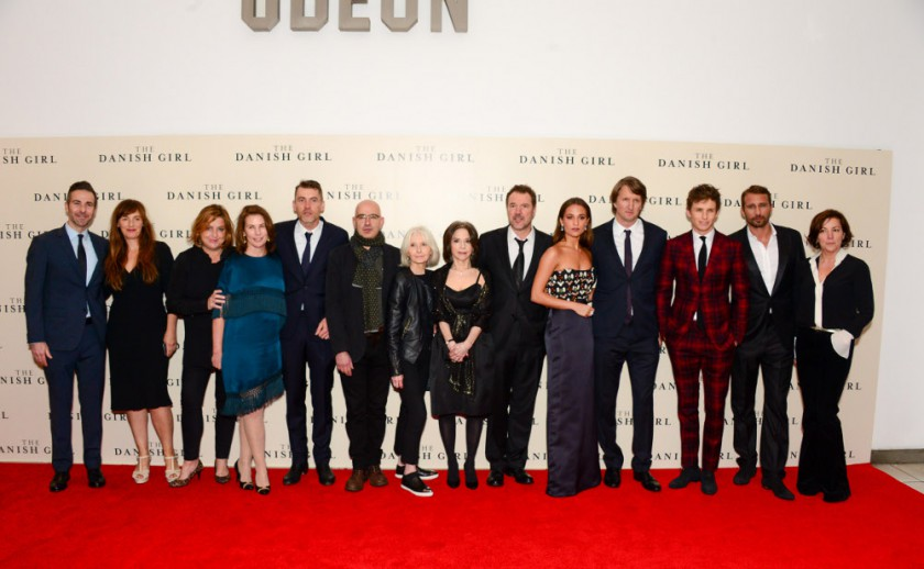 The Cast of 'The Danish Girl'