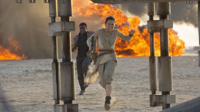 Star Wars film breaks opening day box office record