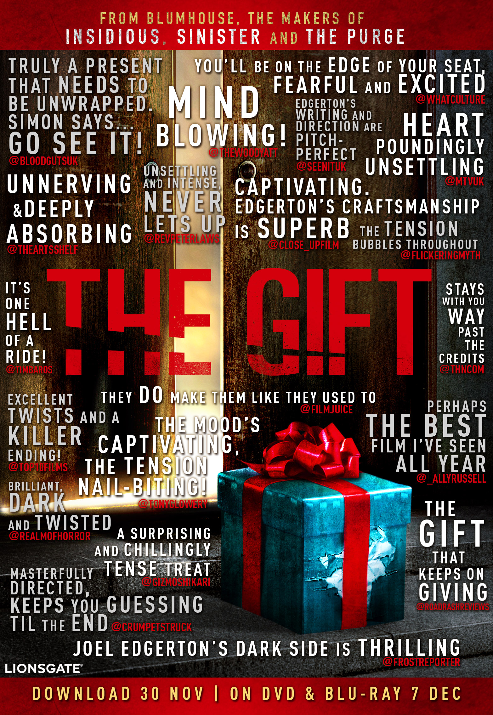 The Gift Quotes Poster Final