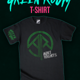 We Have A Limited Green Room T-Shirt To Give Away