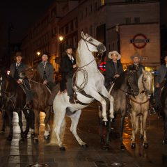 Magnificent Seven: Cowboys spotted in London